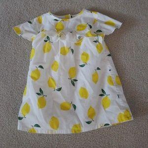 Carter's Toddler Girl 2T Lemon Dress